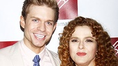 Hunter Ryan Herdlicka is delighted to help celebrate the talents of his A Little Night Music co-star Bernadette Peters.