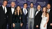 Alzheimers Gala  Jonathan Groff  Rainer Andreesen  Victor Garber  Sarah Jessica Parker  John Benjamin Hickey  Zachary Quinto  Jane Seymour  David Hyde Pierce