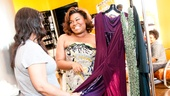 The Tony Awards are right around the corner, and nominee Da'Vine Joy Randolph can't wait to try on the beautiful dress options picked out by her stylist, Angellika Morton.