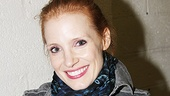 Jessica Chastain and Katie Finneran at Clybourne Park  Jessica Chastain 