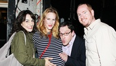 Jessica Chastain and Katie Finneran at Clybourne Park  Annie Parisse  Katie Finneran  Jeremy Shamos  Darren Goldstein 