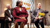 Ron Cephas Jones, Bob Dishy, Tonya Pinkins, Zach Grenier and Giancarlo Esposito in Storefront Church.