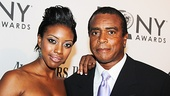 2012 Tony Award Best Pairs- Condola Rashad- Ahmad Rashad
