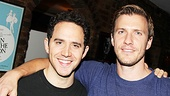 Santino Fontana and Patrick Heusinger don't have much in common on the web series Submissions Only, but in real life they're united by their love of theater.