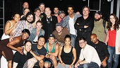 Whats the buzz?  The cast of rock musical Jesus Christ Superstar surrounds rock legend Gregg Allman. 