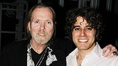 Gregg Allman congratulates Tony nominee Josh Young on his rockin performance as Judas. Check out Young and the cast of Jesus Chris Superstar for yourself at the Neil Simon Theatre.