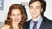 Stage and screen faves Jessica Hecht and Jim Parsons play sister and brother in the Mary Chase comedy.