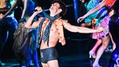 Next to Normal and Wicked star Kyle Dean Massey shows off his impressive voice and his killer body at Broadway Bares XXII: Happy Endings.