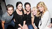 New York theater vets Harris Doran, Jenna Leigh Green, Andrew Call, Nancy Opel and Emily Padgett are ready to rock on the Joes Pub stage. 