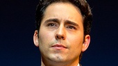 John Lloyd Young as Frankie Valli in Jersey Boys.