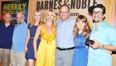 The whole group (Jonathan Tunick, Stephen Sondheim, Betsy Wolfe, Elizabeth Stanley, Adam Grupper, Celia Keenan-Bolger, Lin-Manuel Miranda and virtual Colin Donnell) gets together for one last shot. Get your copy of this must-have cast recording today!
