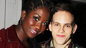 Rent cast members Amber Iman and Taylor Trensch are delighted to have wonderful performers like Anthony Fedorov and Natalie Wachen taking on the roles of Roger and Mimi at New World Stages.