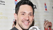 This adorable puppy Dolores isn't enjoying being in Steve Kazee's arms nearly as much as Once fans would!