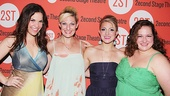 Dogfight's lovely stars Lindsay Mendez, Becca Ayers, Annaleigh Ashford and Dierdre Friel, get ready to party.