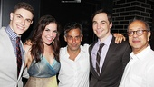 Dogfight Opening Night  Derek Klena  Lindsay Mendez  Joe Mantello  Jim Parsons  George C. Wolfe 