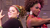 Ariana DeBose, Ryann Redmond & Gregory Haney in Bring It On: The Musical.