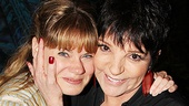 Liza Minnelli and more at Peter and the Starcatcher  Celia Keenan-Bolger  Liza Minnelli