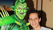 Spider-Man Turn Off The Dark  Marc Anthony Visit  Robert Cuccioli  Marc Anthony