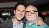Two very funny actors, Paul Rudd and Ed Asner, will soon be sharing a Broadway stage.