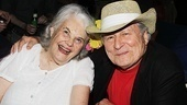 Lois Smith has a blast at the after-party with longtime love David Margulies.