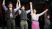 Newsies- Ben Fankhauser- Corey Cott- Kara Lindsay- Lewis Grosso