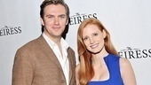In The Heiress, Dan Stevens and Jessica Chastain play a handsome suitor and the object of his affection, respectively.
