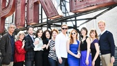 Jessica Chastain and the cast get some sun on the roof of the glamorous Empire Hotel. See The Heiress at the Walter Kerr Theatre beginning October 7!