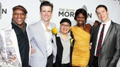‘Book of Mormon’ LA Opening—Kevin Mambo—Gavin Creel—Jared Gertner—Samantha Marie Ware—Grey Henson