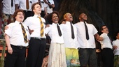 Book of Mormon LA OpeningJared GertnerGavin CreelSamantha Marie WareKevin MamboDerrick Williams