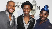 ‘Book of Mormon’ LA Opening—Derrick Williams—Josh Breckenridge—Mykal Kilgore
