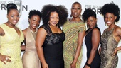 ‘Book of Mormon’ LA Opening—Talitha Farrow; Carole Denise Jones; Marisha Wallace; Laiona Michelle; Phyre Hawkins; Kimberly Marable
