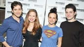 'Bad Jews' Meet and Greet—Michael Zegen—Molly Ranson—Tracee Chimo—Philip Ettinger