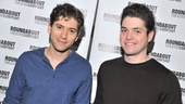 Two by Jew: Michael Zegen and Philip Ettinger play Daphna's cousins Liam and Jonah.