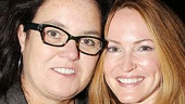 Hot ticket! Media superstar Rosie O'Donnell and her new wife Michelle Rounds catch the Tony Award-winning musical Once.