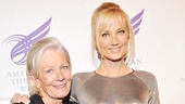 Mother and daughter honorees Vanessa Redgrave and Joely Richardson (off-Broadway bound opposite Ethan Hawke in Ivanov) look stunning as they enter the 2012 gala.