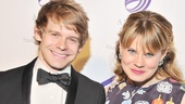 Broadway brother/sister duo Andrew Keenan-Bolger (Newsies) and Celia Keenan-Bolger (Peter and the Starcatcher) look as darling as always.