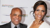 Motown founder and Motown the Musical scribe Berry Gordy poses with Eskedar Gobeze. We can't tell who's luckier!