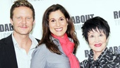 Mystery of Edwin Drood Photo Event  Will Chase  Stephanie J. Block  Chita Rivera