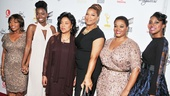 Steel Magnolias star Alfre Woodard, Adepero Oduye, Phylicia Rashad, Queen Latifah, Jill Scott and Condola Rashad welcome fans to Paris Theater for the world premiere screening.