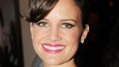 Gorgeous Broadway vet Carla Gugino is dressed to the nines on opening night.