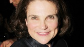 Broadway vet Tovah Feldshuh took in the joyous occasion on opening night.