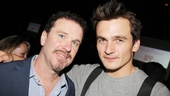 Douglas Hodge and former colleague Rupert Friend are a pair of dashing Brits!