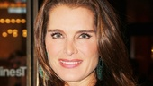 Brooke Shields loves being a first-nighter! She last appeared on Broadway as Morticia in The Addams Family.