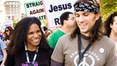 Audra McDonald & Will Swenson Love Timeline – Marriage Equality March