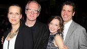 In Who's Afraid of Virginia Woolf? Amy Morton, Tracy Letts, Carrie Coon and Madison Dirks play two couples who have a very eventful evening of boozing and brawling.