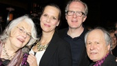 Steppenwolf pals Lois Smith, Amy Morton, Tracy Letts and David Margulies reunite at Bond 45.