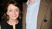 Whos Afraid of Virginia Woolf  Opening Night  Rachel Dratch  boyfriend John Wahl