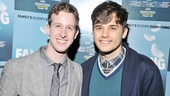 Bare's Alex Wyse and Smash's Andy Mientus look pretty sharp for the Falling opening.