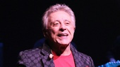 Frankie Valli can't take his eyes of his adoring audience on his long-awaited Broadway opening night.