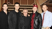 Frankie Valli  opening  Brandon Brigham - Brian Brigham - Frankie Valli, Todd Fournier - Landon Beard